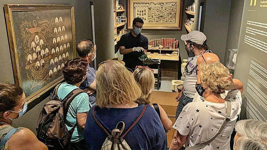 Les visites al Museu de Llívia recuperen les xifres del 2019