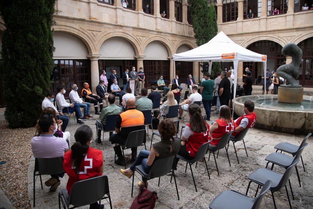 Homenaje de la Diputación de Zamora.