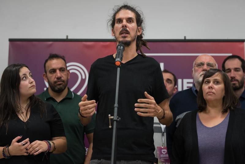 Noche electoral de Podemos en Santa Cruz