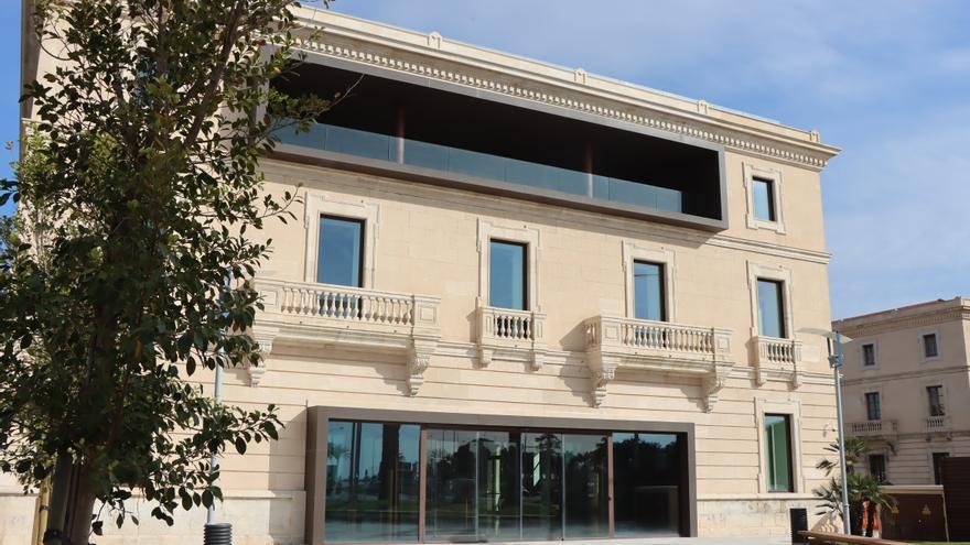 Así ha quedado la antigua sede del Puerto de Palma tras su reforma