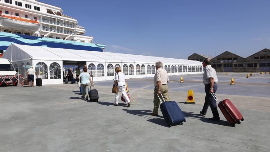 La terminal de cruceros viguesa es la primera de Europa con certificado anti- COVID- 19