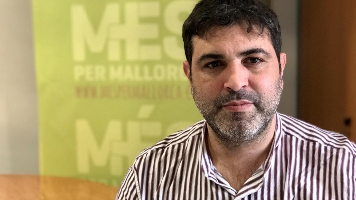Josep Ferrà, diputado y portavoz adjunto de Més per Mallorca.