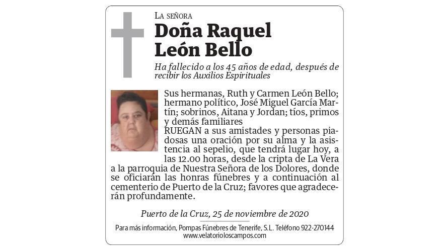 Raquel León Bello