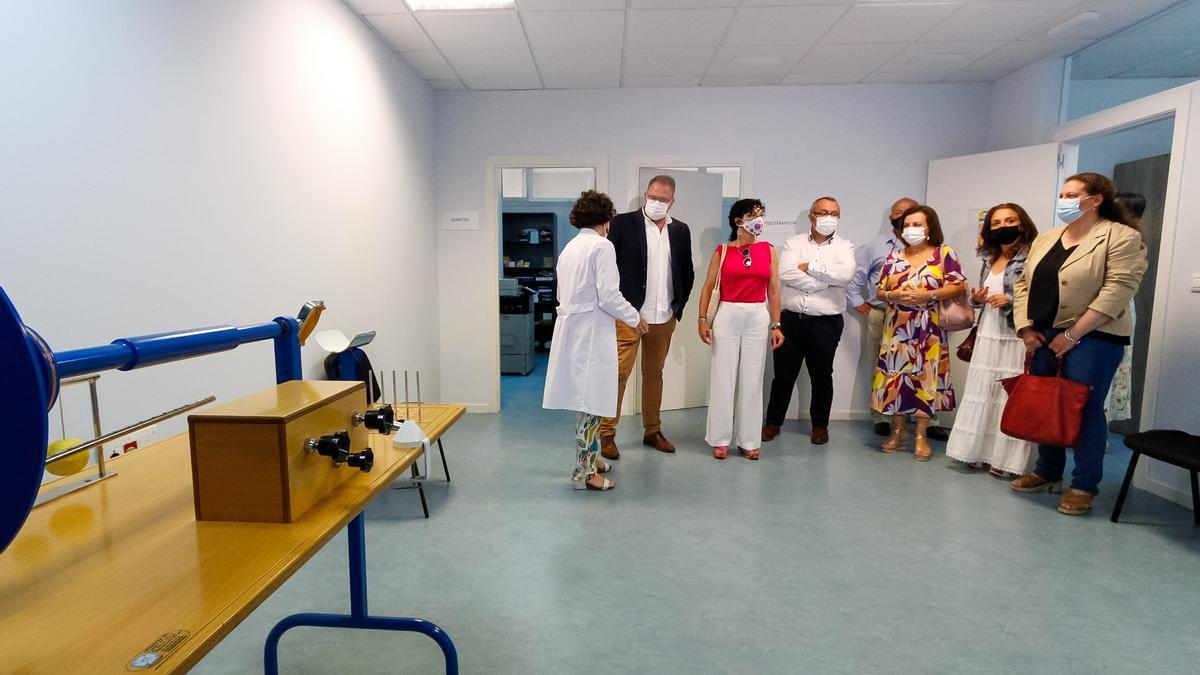 Visita a las instalaciones del centro de día de AFAM.