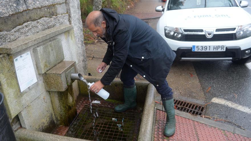 El agua de las 53 fuentes públicas de Meaño lleva dos años sin analizarse