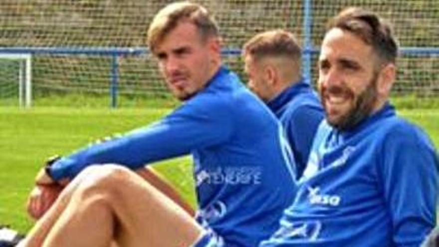 Primera sesión en las instalaciones del Deportivo Alavés
