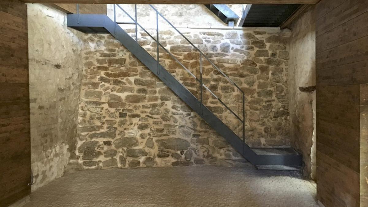 Así luce la renovada Casa Abadía de Portell