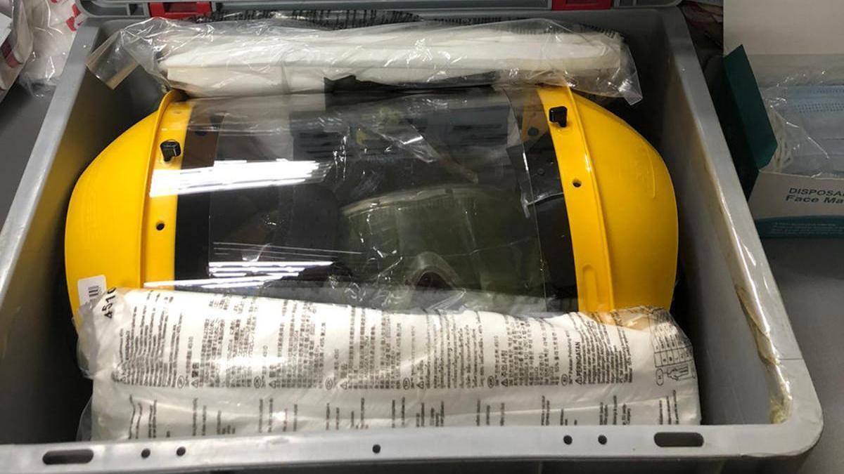 Nuevos kits de protección para la policía local