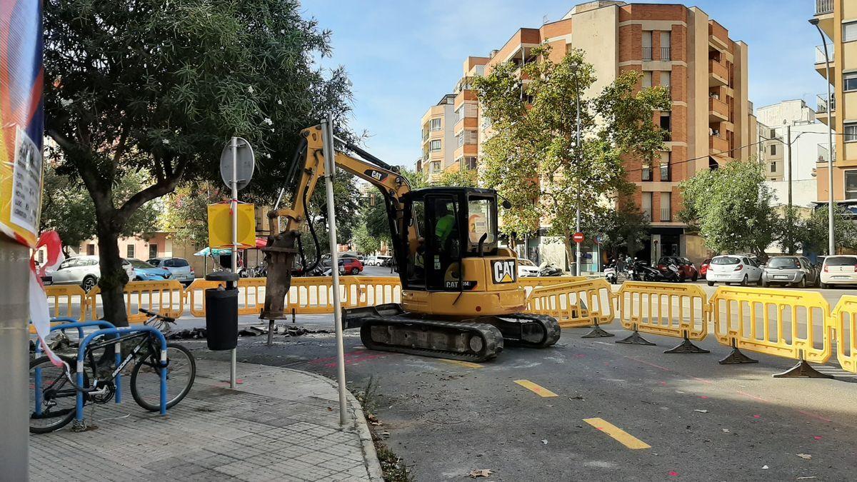 La plaza Guillem Moragues se transformará en un anillo verde con más espacio para el peatón