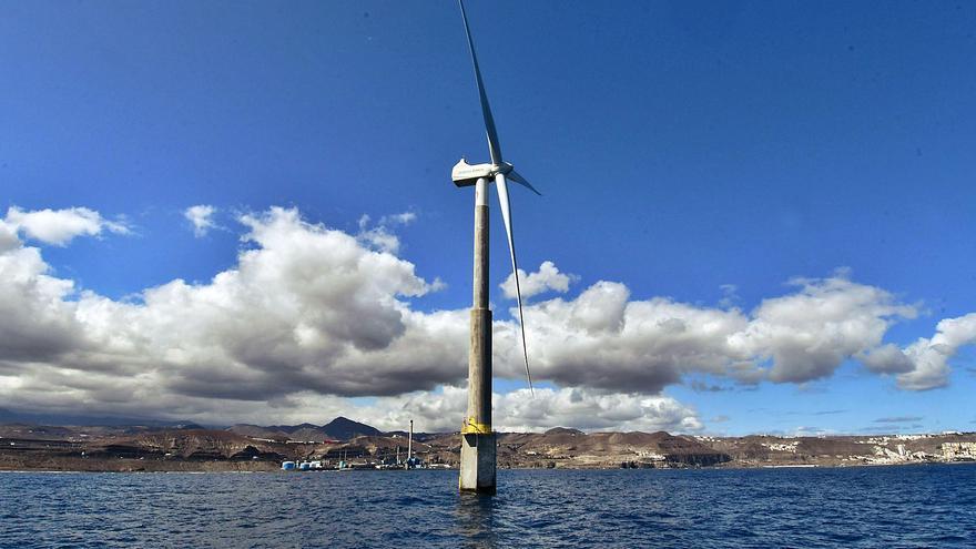 Los proyectos eólicos para el mar canario cubren un tercio de la potencia actual