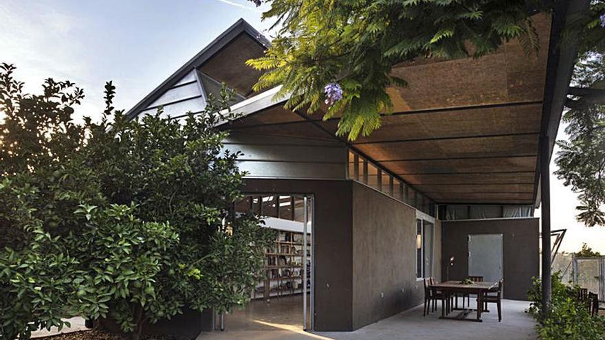 Todolí pone su huerto citrícola en el mapa de  la arquitectura