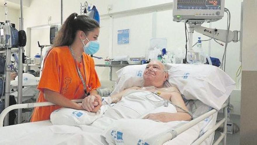 Pasa a planta en Madrid el paciente que más tiempo pasó en UCI: 144 días