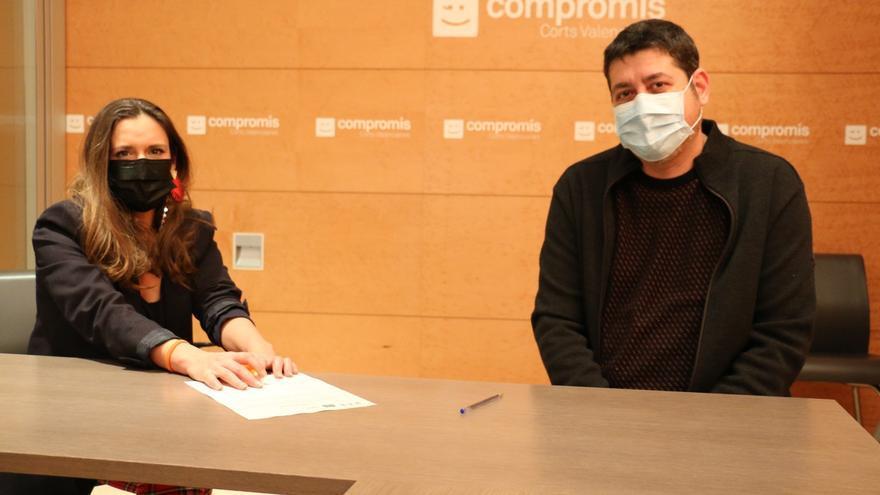 Compromís pide información sobre el bloqueo de trolls en À Punt tras la entrevista a Puig