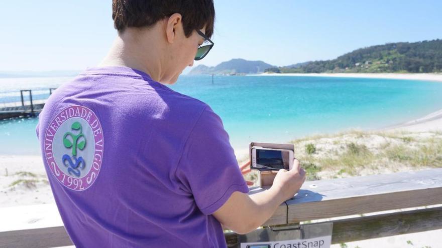 CoastSnap pide colaboración ciudadana para monitorizar cómo evoluciona costa gallega