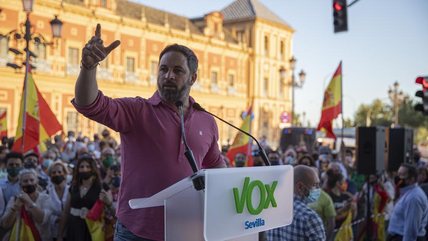 """Prohibido un mitin de Abascal en Ceuta para no """"tensar más la situación"""""""
