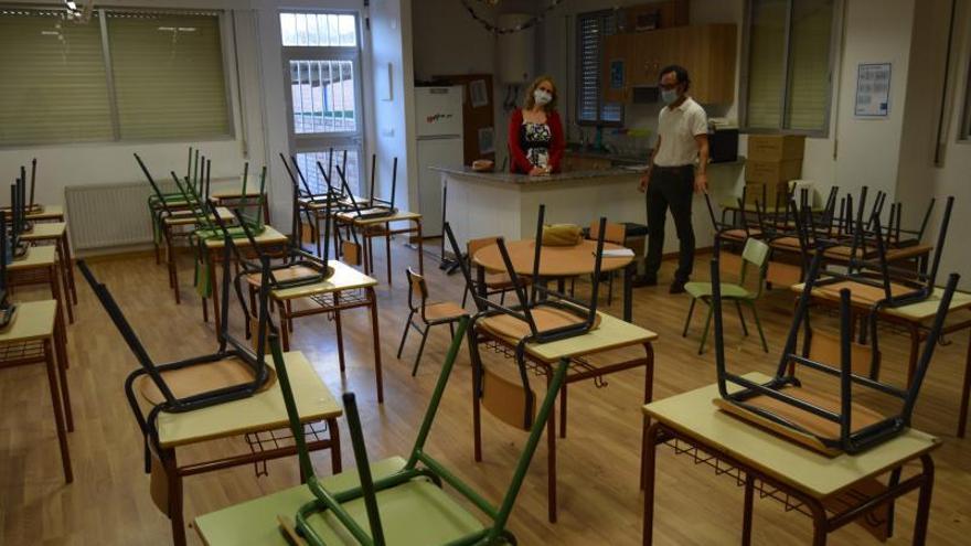 Absentismo escolar por el COVID con parada en la Fiscalía