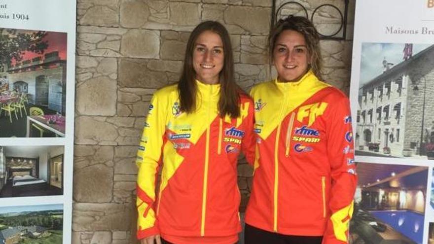 La manresana Mireia Badia i la navassenca Kate Vall participen aquest cap de setmana al Mundial