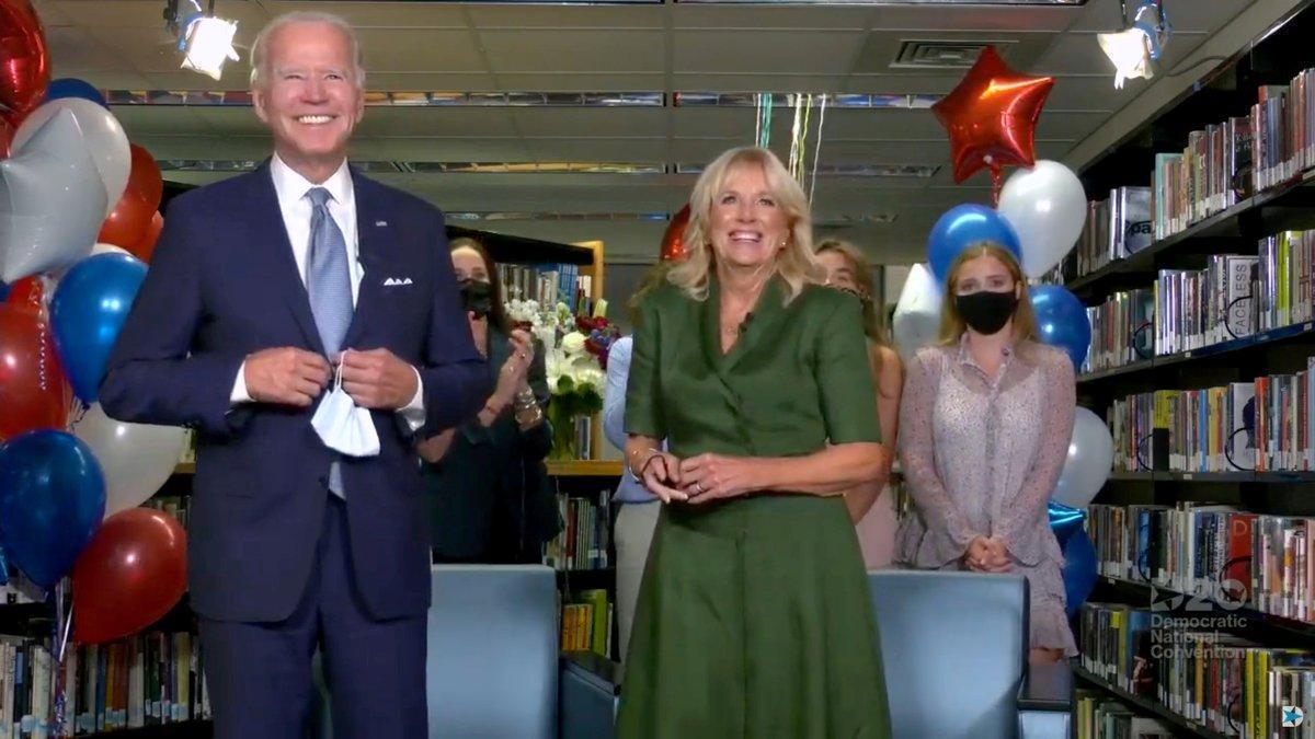 Los demócratas nominan oficialmente a Biden en una jornada con regusto a pasado