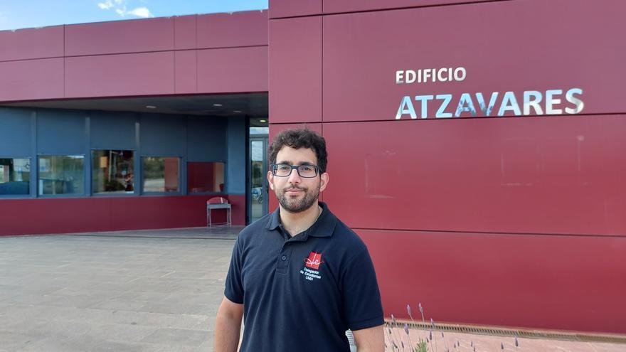 El alumno de Periodismo Miguel Ángel García, nuevo delegado de Estudiantes de la UMH de Elche