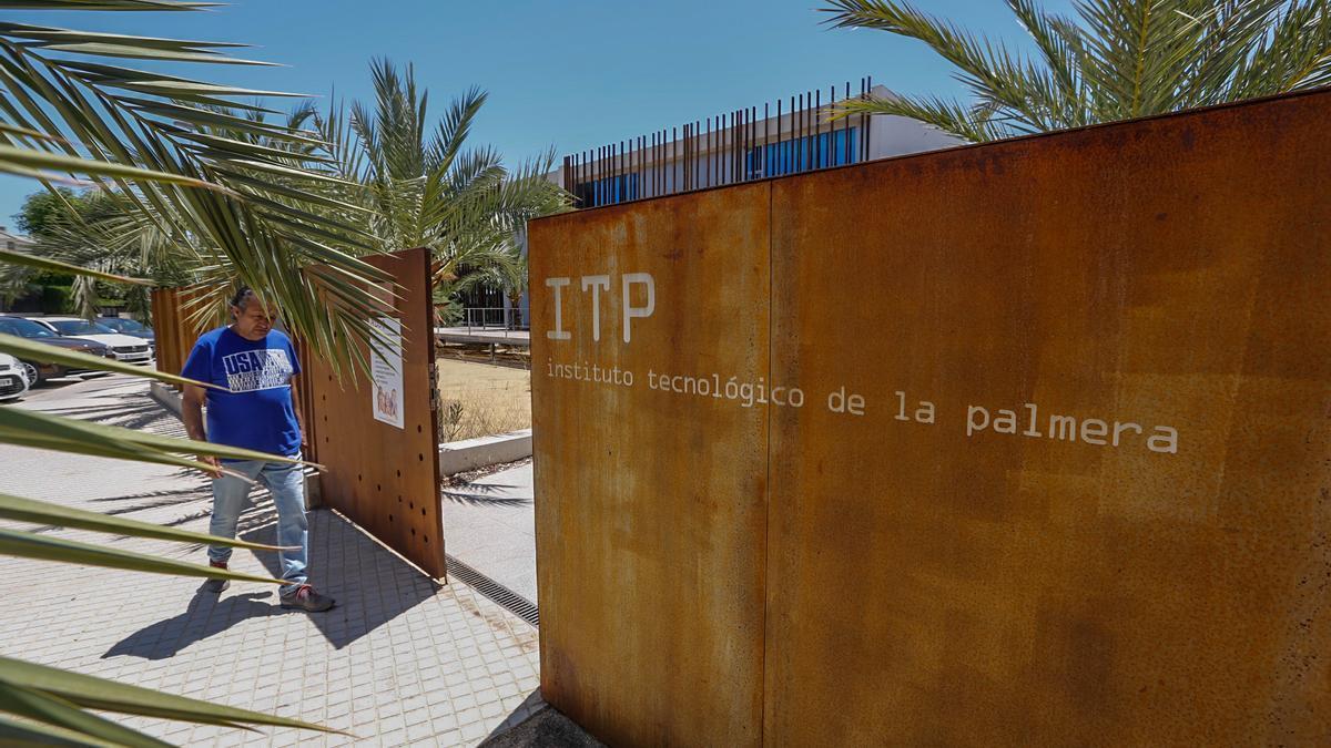 Instalaciones del Instituto Tecnológico de la Palmera, cuya concesión se adjudicó hace tres años.