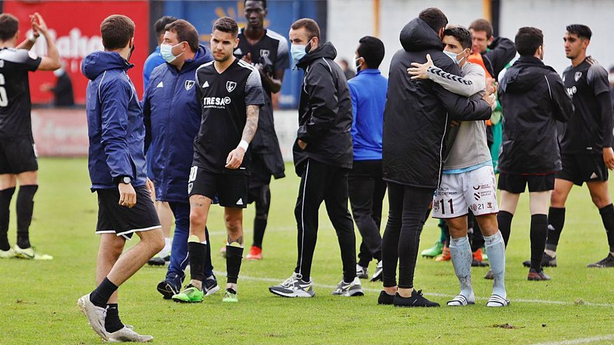 Así fue la jornada de los equipos asturianos de Segunda B