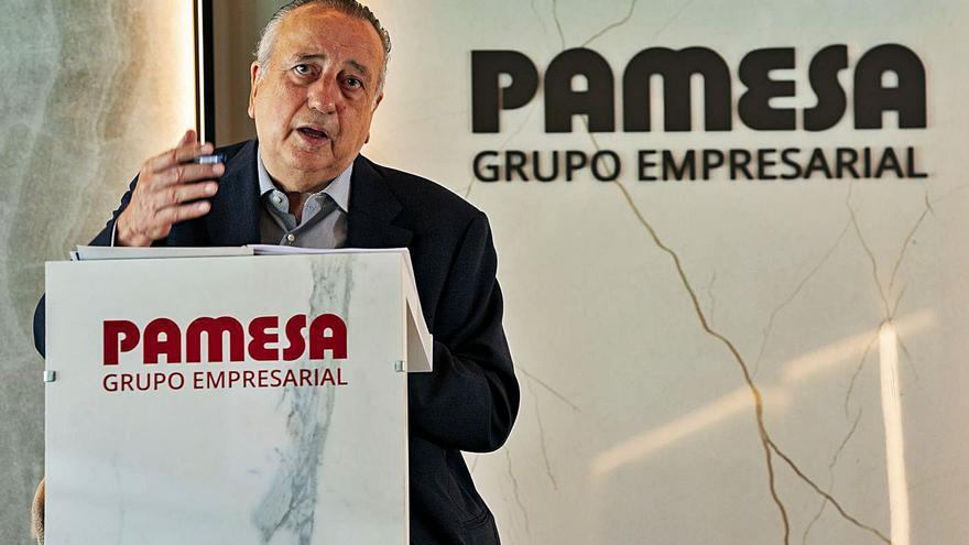 El 17 % de la producción azulejera española sale de las cinco plantas de Pamesa