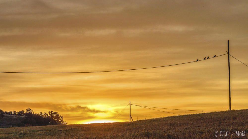 El Moianès. Comença el dia a la comarca del Moianès. El sol ja s'ha despertat, comença a escalfar i il·luminar el dia, i crida tothom a llevar-se.