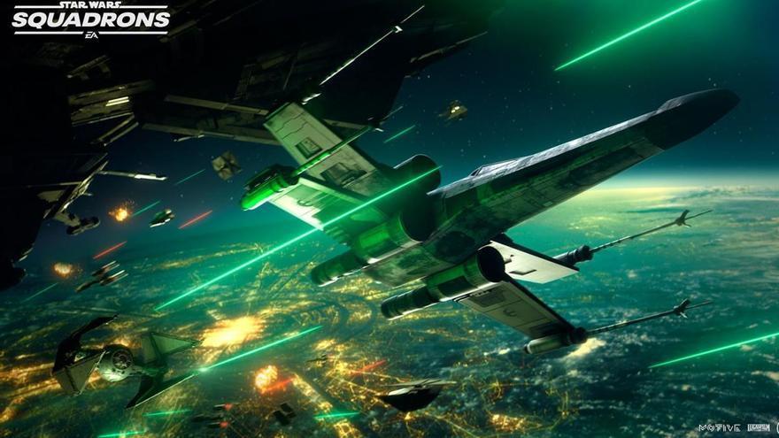 Conviértete en piloto de la nueva generación con 'Star Wars Squadrons'