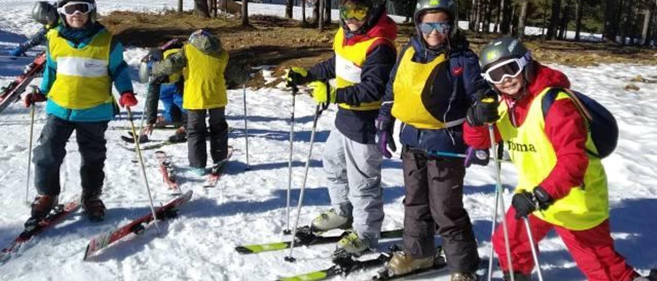 Compañerismo a través del esquí