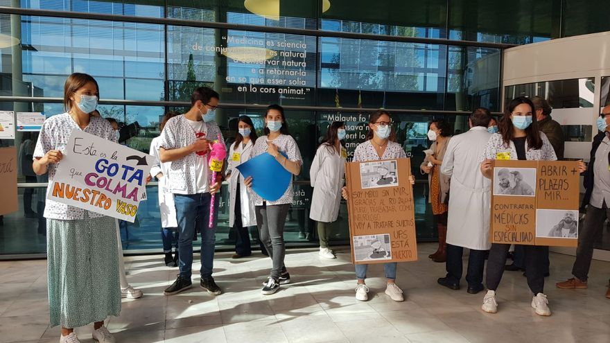 Los pediatras de Mallorca denuncian que se hurtó la asistencia a los menores