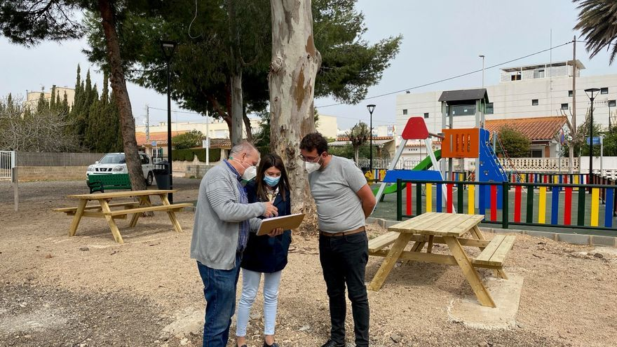 Orpesa estrena un párking y un parque en Morro de Gos