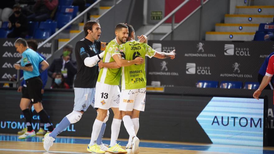 Raúl Campos da el triunfo al Palma Futsal a siete segundos del final