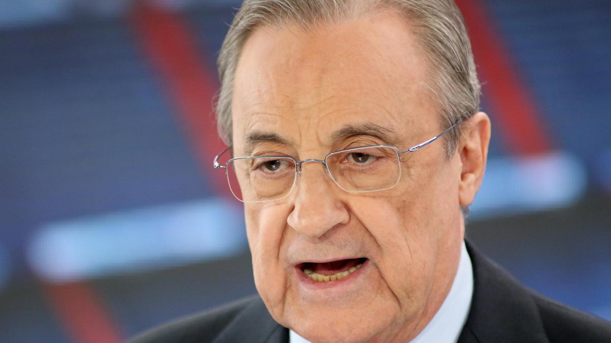 Florentino Perez, president of Real Madrid