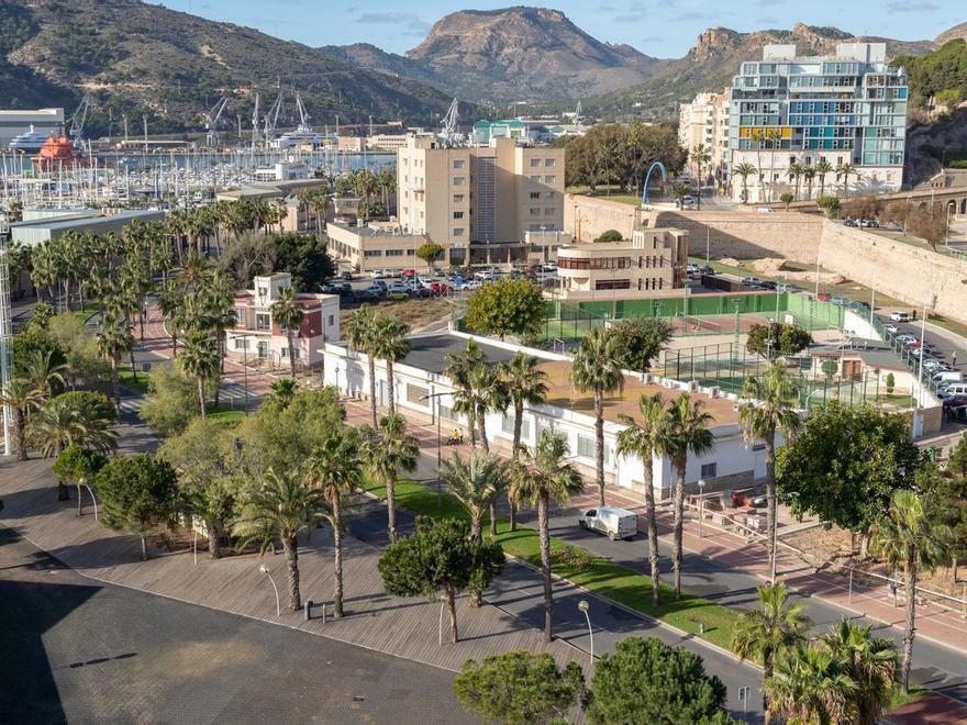 Nuevas zonas verdes en Cartagena