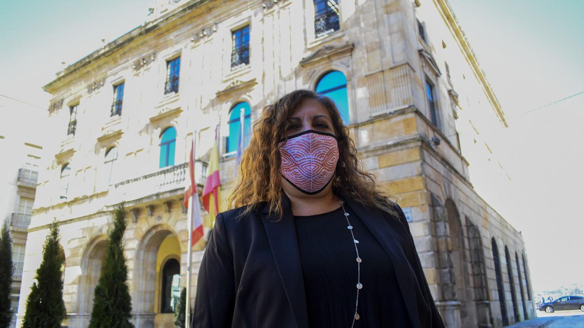 Marina Pineda, concejala de Hacienda en el Ayuntamiento de Gijón
