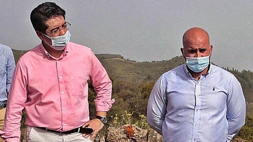 Nueva Canarias  pide al secretario que aclare la situación legal del alcalde de El Tanque