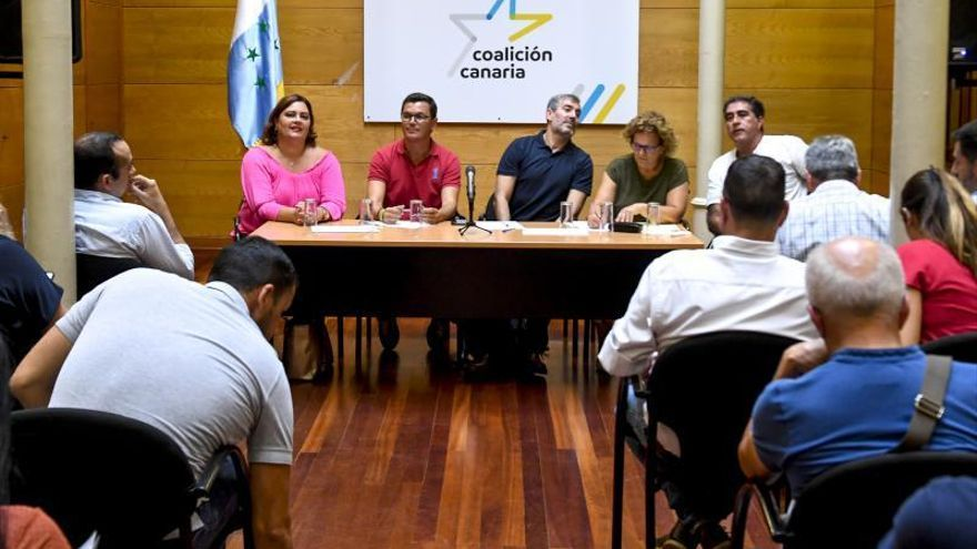 Reunión del comité insular de Coalición Canaria