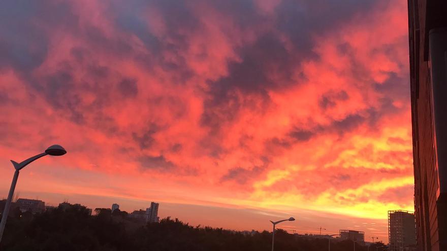 Las espectaculares imágenes con las que se ha despertado hoy València