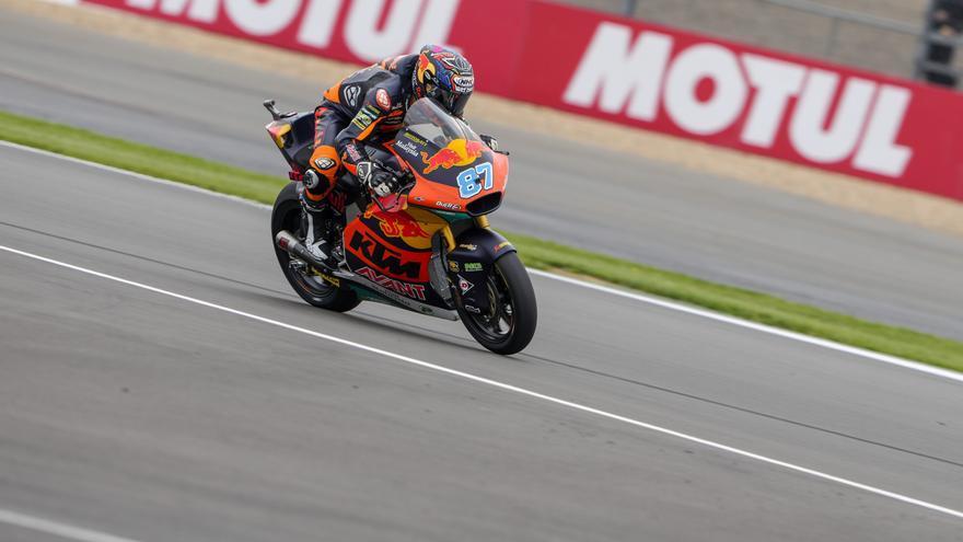 Remy Gardner, ganador de Moto2 2021 en el circuito de Silverstone