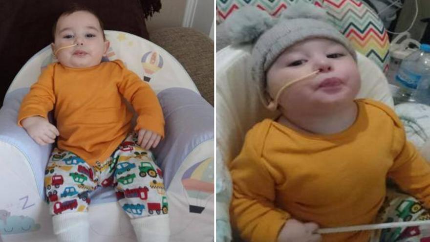 Piden ayuda para tratar en Galicia a un bebé de Málaga con parálisis cerebral