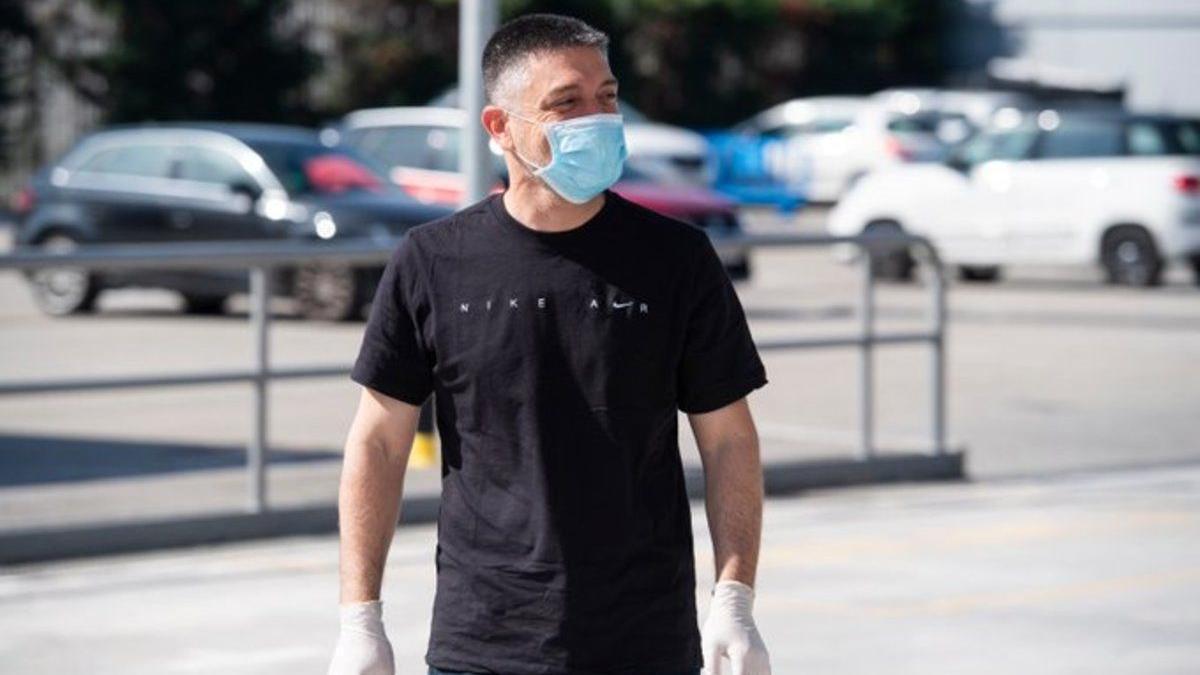 García Pimienta, en la ciudad deportiva del Barça