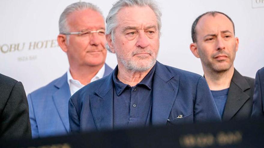 """Robert de Niro, en Ibiza: """"Es fantástico estar con vosotros"""""""