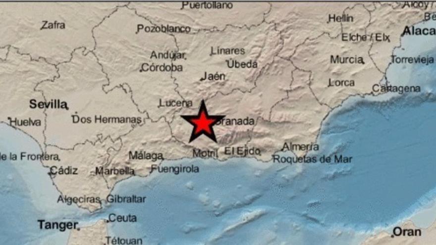 Un terremoto de magnitud 3,5 hace temblar Granada