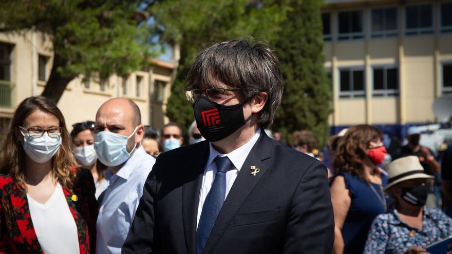 Carles Puigdemont, detingut a Sardenya per l'ordre de recerca i captura del Tribunal Suprem