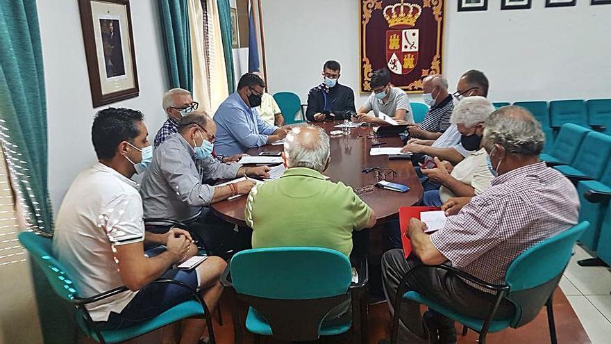 Alcaldes alistanos llevan a las Cortes sus demandas sanitarias