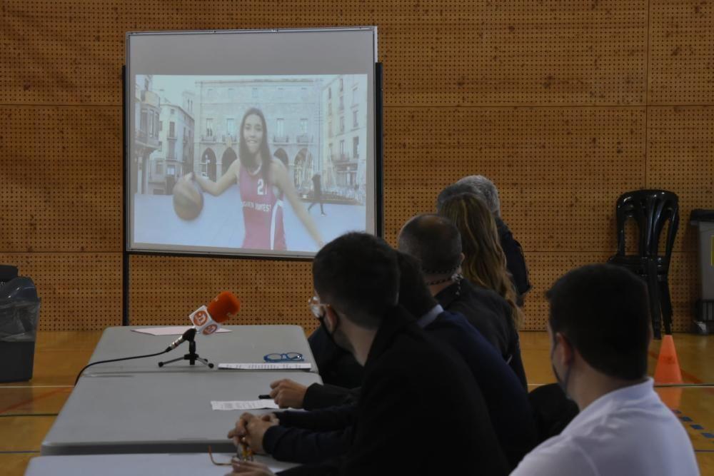 Presentació del Manresa Club Bàsquet Femení