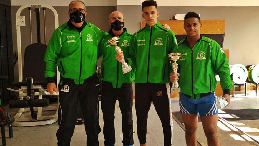 Los halteras alzireños, a la Copa Federación