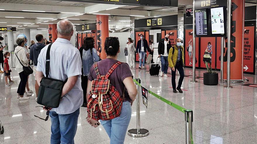 Baleares lidera la llegada de pasajeros internacionales