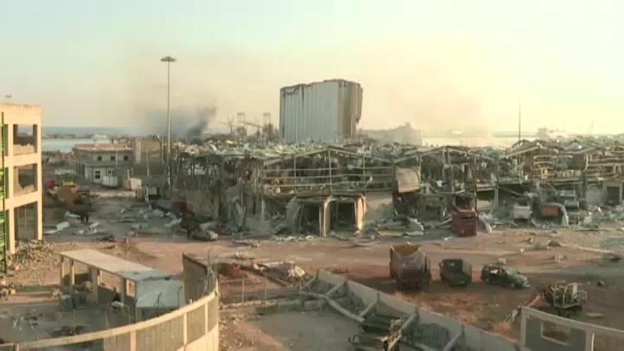 Las explosiones de Beirut dejan al menos 137 muertos y cerca de 5.000 heridos