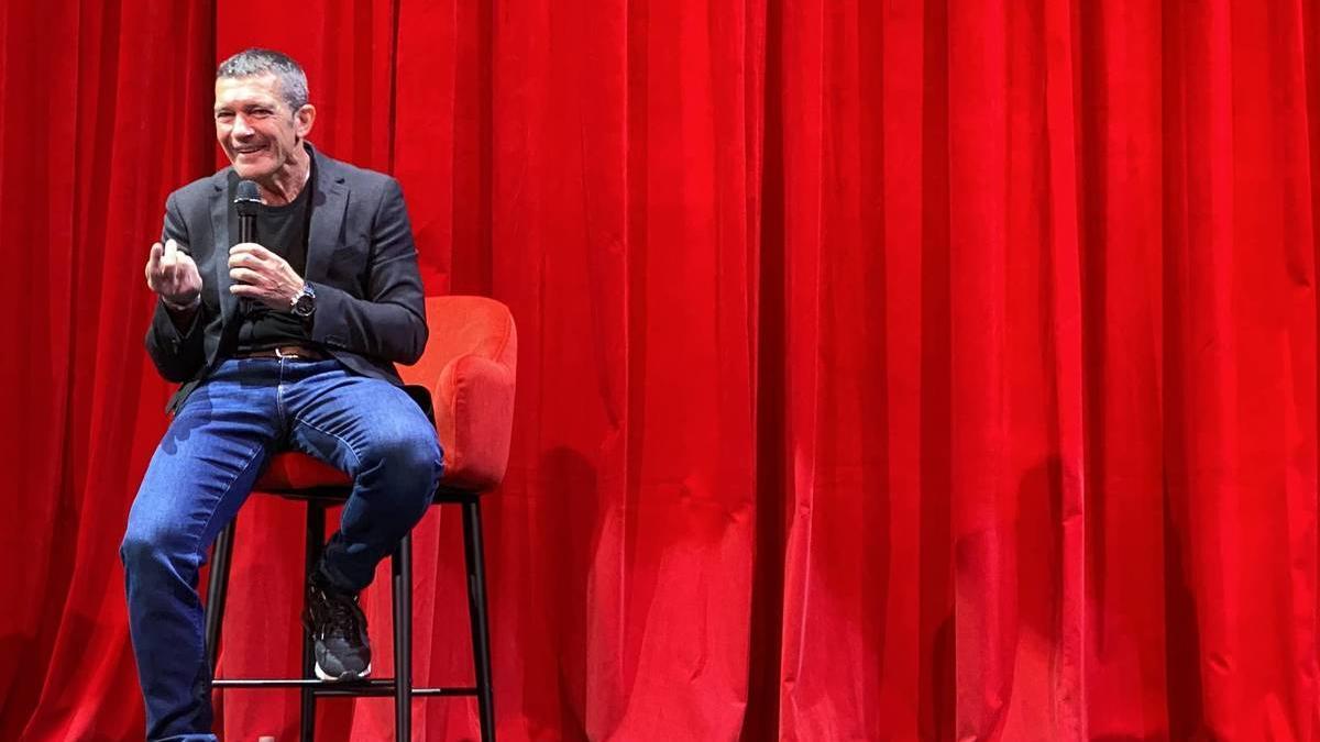 Antonio Banderas, en su teatro